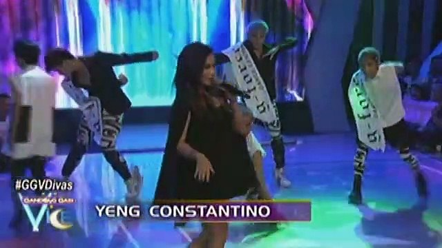 "Kyla, Yeng, KZ and Angeline perform ""Don't Let Me Down"" on GGV"