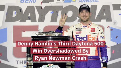 Denny Hamlin Wins Third Daytona 500