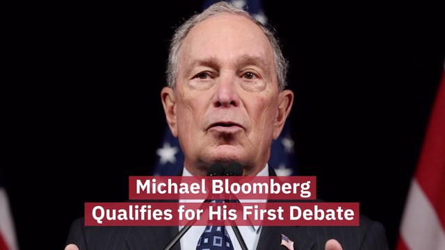 Michael Bloomberg Will Take The Debate Stage