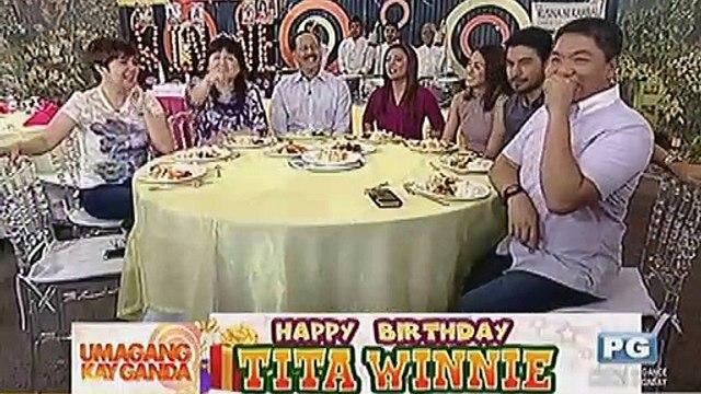 Happy birthday tita Winnie!