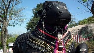 Nandi idol atop Chamundi Hill develop a Splinter | Chamundi Hills | Mysore | Oneindia Kannada