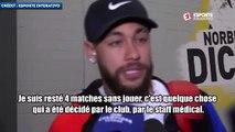 Neymar critique publiquement la décision du PSG !