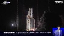 Une fusée Ariane 5 lance deux satellites de télécommunications