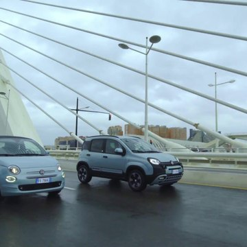 Fiat 500 and Panda Hybrid Edition Seaqual Driving Video