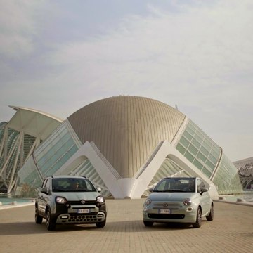 Fiat 500 and Panda Hybrid Edition Seaqual Trailer