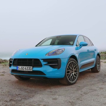 The new Porsche Macan GTS Design in Miami Blue
