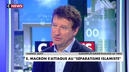 Yannick Jadot - CNews mercredi 19 février 2020