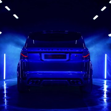 The new Range Rover Sport GL-5x Taillight - Interchangeable Aerodynamic Fin