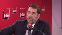 """Christophe Castaner : """"J'ai été surpris d'entendre à votre micro Olivier Faure, que je connais bien et que j'ai accompagné dans ses divorces. J'ai été étonné de ses leçons de morale"""""""
