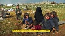 Syrie : à Idleb, l'exode des civils s'intensifie, les bombardements aussi
