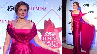 Salman Khan's Girlfriend Iulia Vantur at Nykaa Femina Beauty Awards 2020 |FilmiBeat