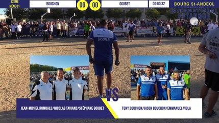 32ème BOUCHON vs GOUBET : International à pétanque de Bourg-Saint-Andéol septembre 2019