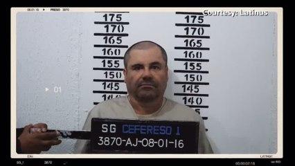 'El Chapo' appears in rare Mexican video