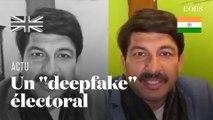 """En Inde, un politicien crée une vidéo """"deepfake"""" pour sa campagne électorale"""