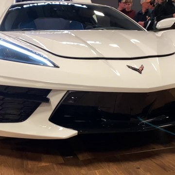 Brand New 2020 c8 Corvette Shines Bright at the NC International Auto Expo