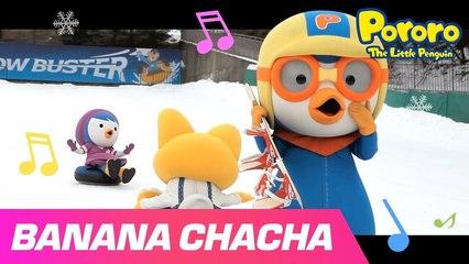 Banana Cha Cha Music Video | Pororo Playday - Winter is Coming! | MOMOLAND X Pororo | POROROLAND