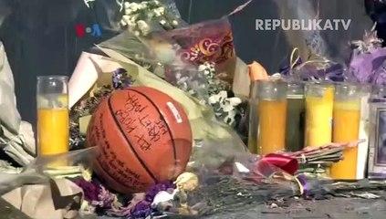 Para Fan di Los Angeles Mengenang Kobe Bryant