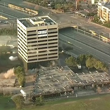 This Dallas building was supposed to be demolished with dynamite but something went wrong