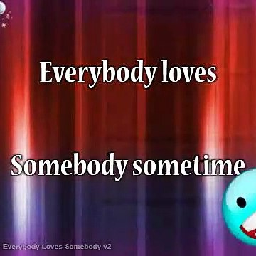 Dean Martin - Everybody Loves Somebody v2 Karaoke Version