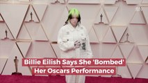 Billie Eilish Looks Back At Oscars Performance