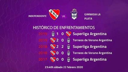 Previa partido entre Independiente y Gimnasia La Plata Jornada 21 Superliga Argentina