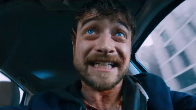 Guns Akimbo Movie Clip - Stop shooting at me! - Daniel Radcliffe, Samara Weaving