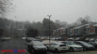 SNOW DAY IN ATLANTA USA