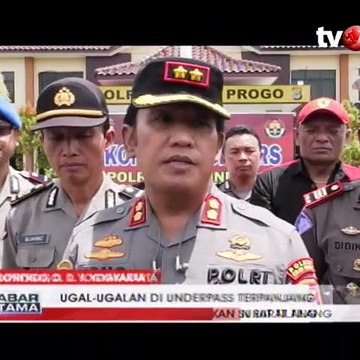 Polisi Tilang Pengendara Ugal-ugalan di Underpass Terpanjang