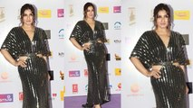 Raveena Tandon's  Look at Red Carpet of 12th Radio Mirchi Awards 2020 | Boldsky