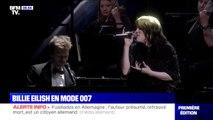 Billie Eilish interprète pour la première fois en live la bande originale du prochain James Bond