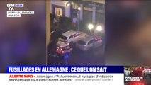 Fusillades en Allemagne: ce qu'il s'est passé cette nuit près de Francfort