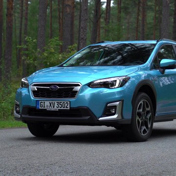 The new Subaru XV ECO HYBRID Exterior Design