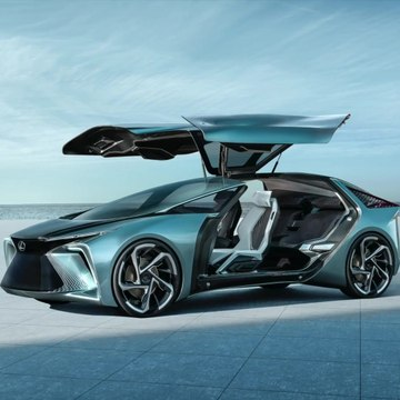 Lexus LF-30 Electrified Concept for the first time in Europe