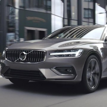 New Volvo V60 Driving Video