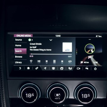 New Jaguar F-TYPE embed Spotify App