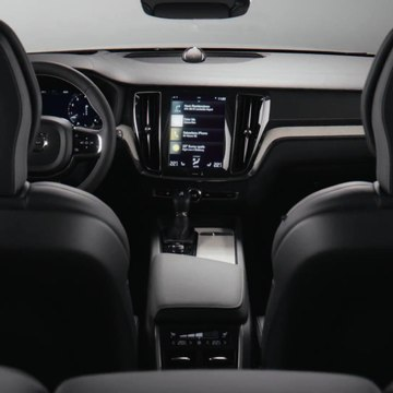 New Volvo V60 Interior Design