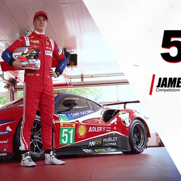 WEC - James Calado from Ferrari targets encore at COTA