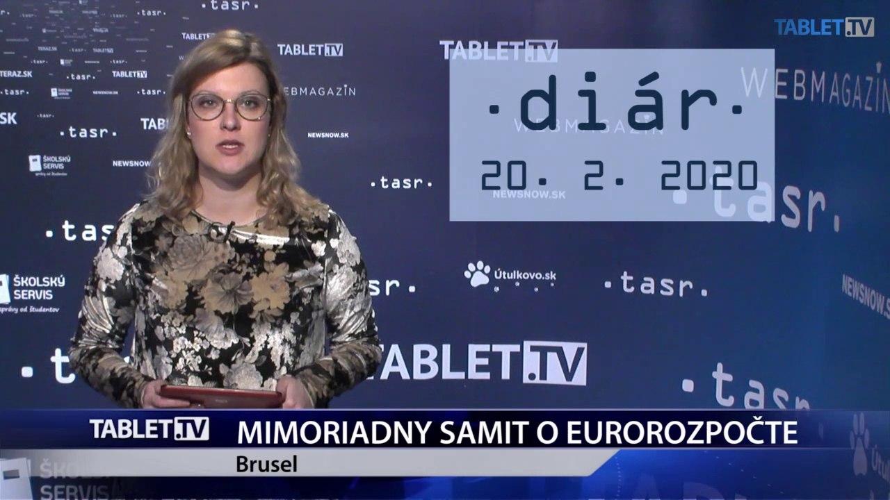 DIÁR: V Bruseli sa začína mimoriadny samit o eurorozpočte