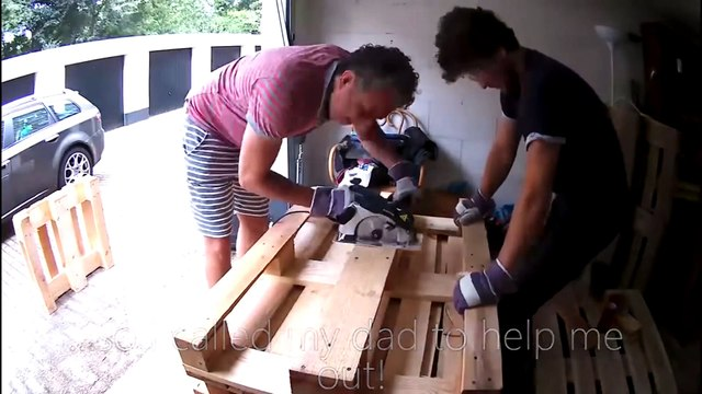 Wooden Sofa & Coffee Table - Mademan Crafts