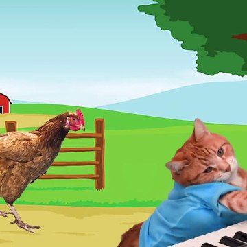 Learn Color Farm Animals and Balls