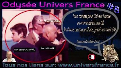 Mon combat pour Univers France a commencé en mai 68. Je n'avais a que 12 ans, je vais en avoir 64! #universfrance