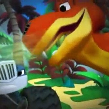Blaze and the Monster Machines S02E02 Dino Dash