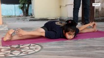 Yogatastic! 11-year-old world-record breaking Indian gymnast has sights set on Olympics