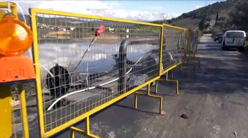 Σε λειτουργία το μεγάλο έργο για τις πλημμυρισμένες περιοχές της Χαλκίδας