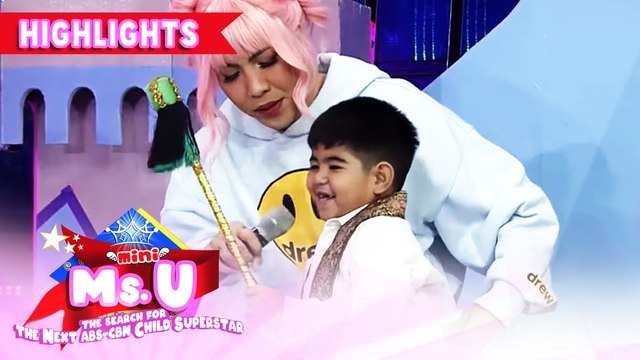 Yorme tries baton twirling | It's Showtime Mini Miss U