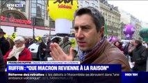 """Selon François Ruffin, il faut que """"Macron revienne à la raison"""""""
