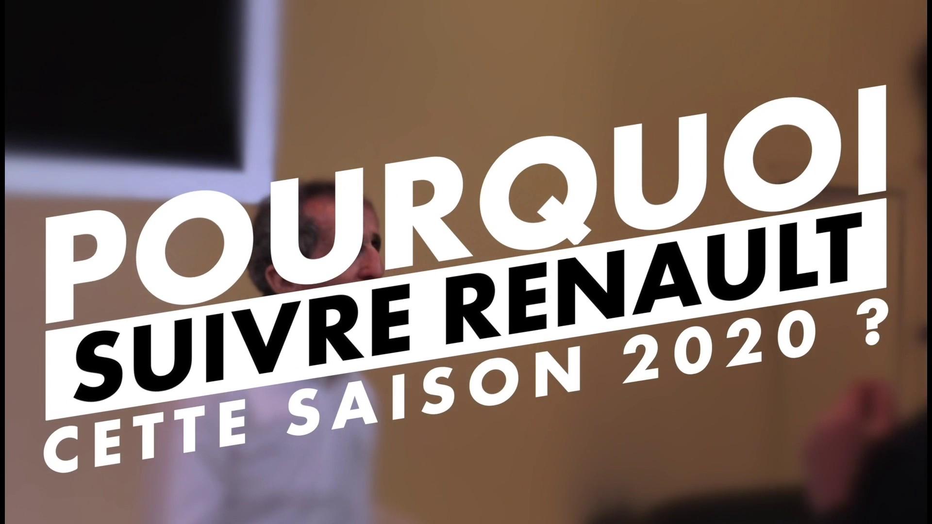 Team F1 Renault - Lancement de la saison 2020