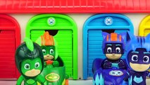 Juguetes 2000 - Learn Colors with PJ Masks Race Car Toys, Kinetic Sand, Slime, a