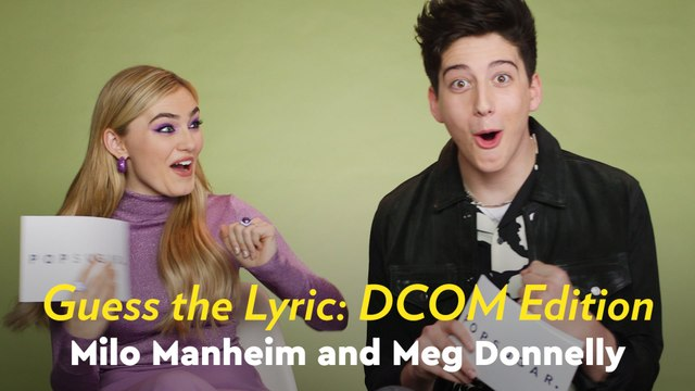 Zombies 2: Meg Donnelly and Milo Manheim Sing Their Hearts Out as They Guess DCOM Lyrics