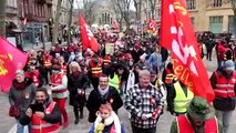 Manif contre la réforme des retraites : 1 500 personnes dans la rue à Metz